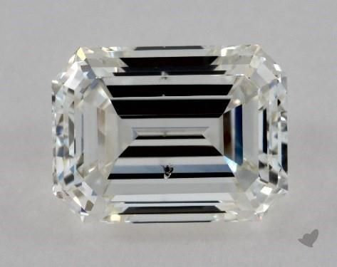 1.04 Carat H-SI1 Emerald Cut Diamond