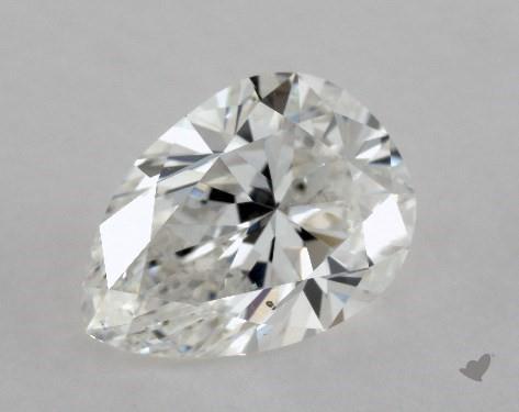 1.03 Carat F-SI1 Pear Shape Diamond
