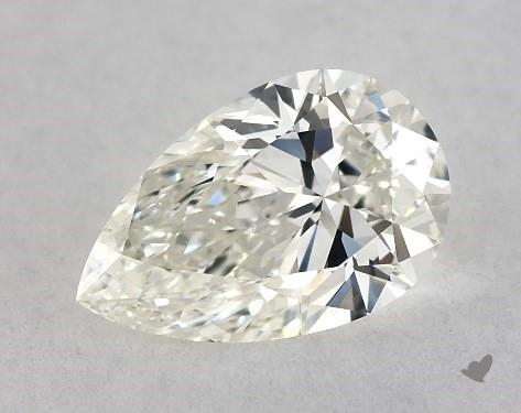 0.72 Carat J-VS1 Pear Shape Diamond