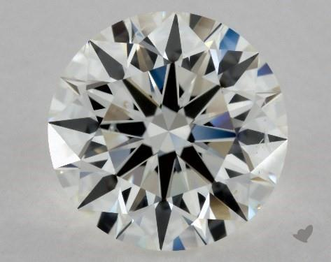 2.02 Carat H-SI1 Excellent Cut Round Diamond