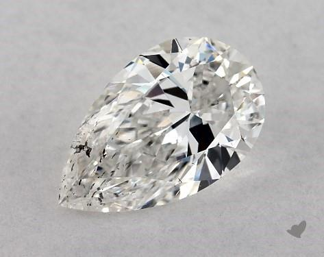 0.70 Carat F-SI2 Pear Shape Diamond
