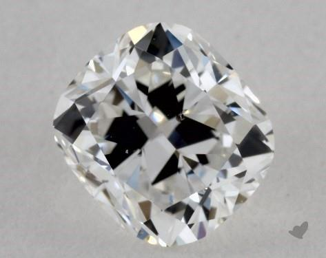 0.50 Carat E-SI1 Cushion Cut Diamond