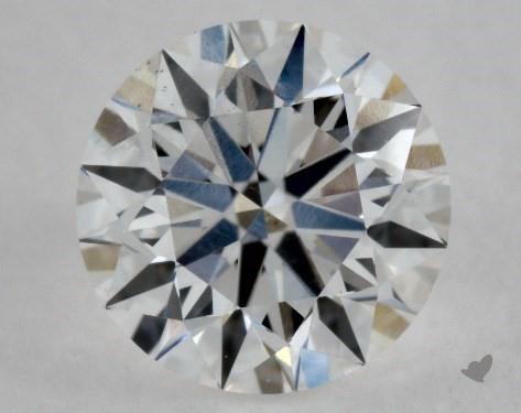 0.50 Carat E-VS2 Excellent Cut Round Diamond