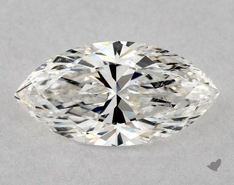 1.51 Carat H-SI2 Marquise Cut Diamond