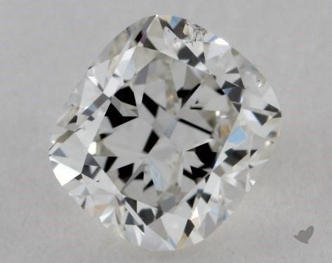 0.50 Carat F-SI1 Cushion Cut Diamond