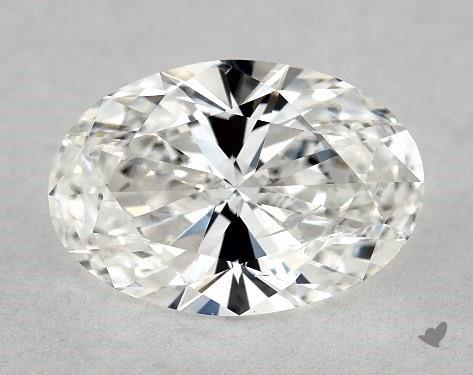 1.03 Carat F-I1 Oval Cut Diamond