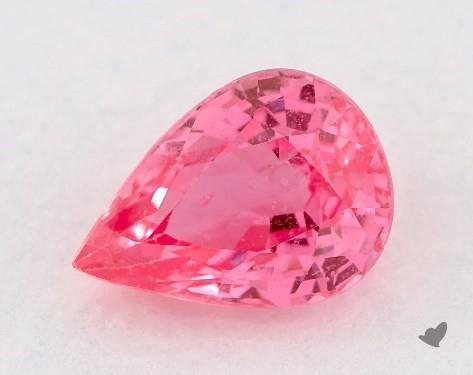 <b>0.99</b> Total Carat Weight Pear Natural Pink Sapphires