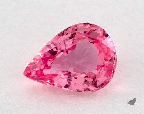 0.98 Total Carat Weight Pear Natural Pink Sapphires