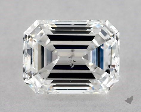 1.02 Carat D-SI1 Emerald Cut Diamond