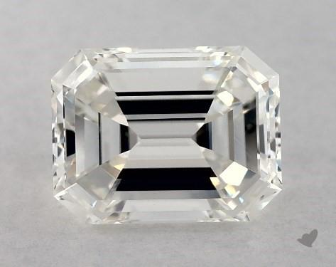 1.00 Carat H-VS1 Emerald Cut Diamond