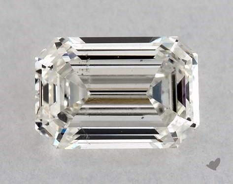 0.99 Carat H-VS2 Emerald Cut Diamond