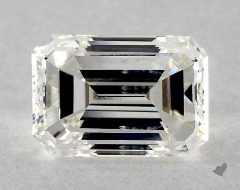 0.43 Carat I-SI2 Emerald Cut Diamond