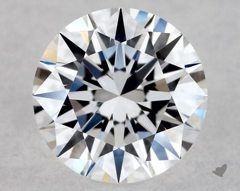 0.39 Carat D-FL Excellent Cut Round Diamond