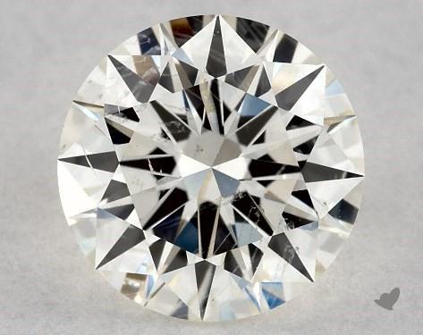 0.71 Carat K-I1 Excellent Cut Round Diamond