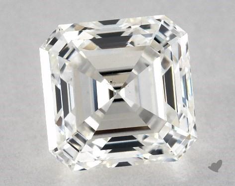 1.01 Carat H-VS2 Square Emerald Cut Diamond