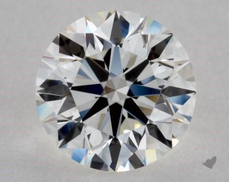 0.99 Carat H-VVS1 Excellent Cut Round Diamond