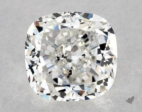 1.03 Carat F-SI1 Cushion Modified Cut Diamond