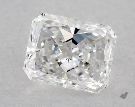<b>0.51</b> Carat E-VS1 Radiant Cut Diamond