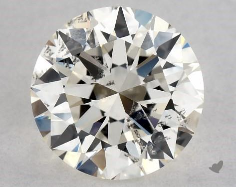 0.70 Carat K-SI2 Excellent Cut Round Diamond