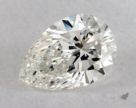 1.12 Carat H-VS2 Pear Shape Diamond