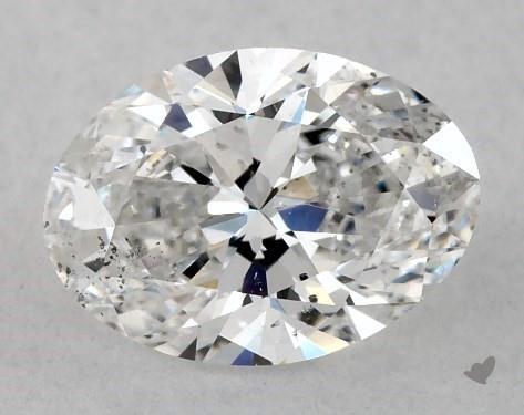 1.00 Carat D-SI1 Oval Cut Diamond