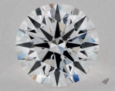 1.01 Carat E-VVS2 True Hearts<sup>TM</sup> Ideal Diamond