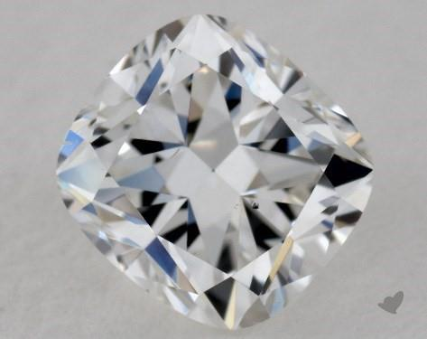 0.80 Carat F-VS2 Cushion Modified Cut Diamond