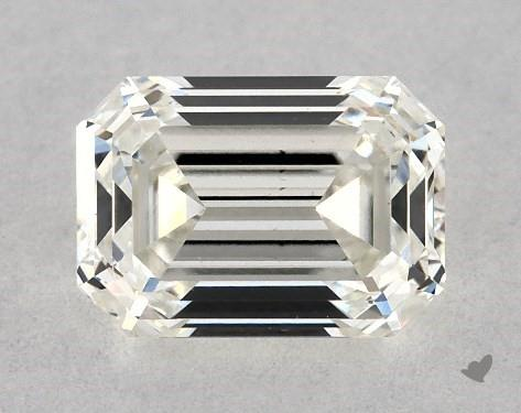 0.70 Carat H-VS2 Emerald Cut Diamond