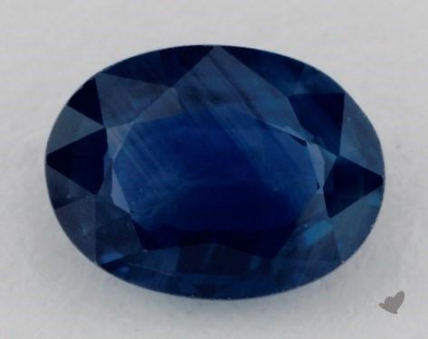 0.87 carat Oval Natural Blue Sapphire