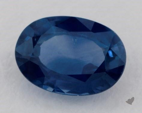 0.92 carat Oval Natural Blue Sapphire