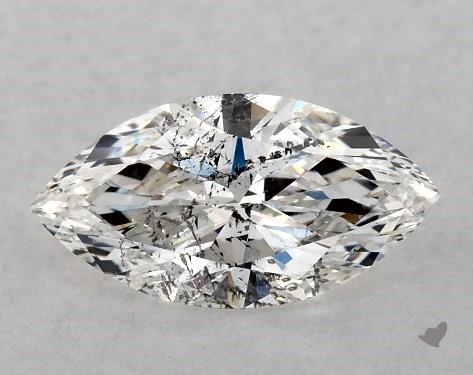0.72 Carat F-I1 Marquise Cut Diamond