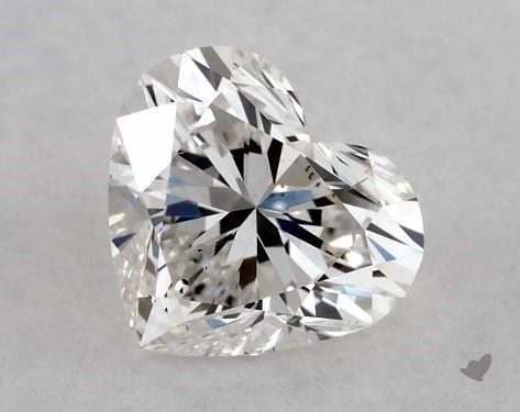 1.02 Carat H-VS2 Heart Shape Diamond
