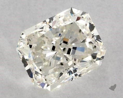 0.85 Carat K-SI2 Radiant Cut Diamond