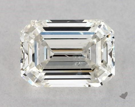 1.01 Carat H-SI2 Emerald Cut Diamond