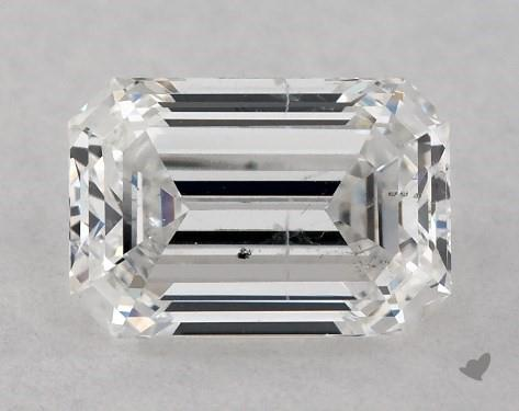 0.84 Carat E-SI2 Emerald Cut Diamond