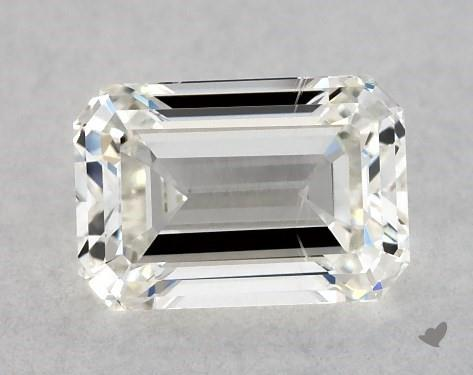 0.70 Carat G-SI1 Emerald Cut Diamond