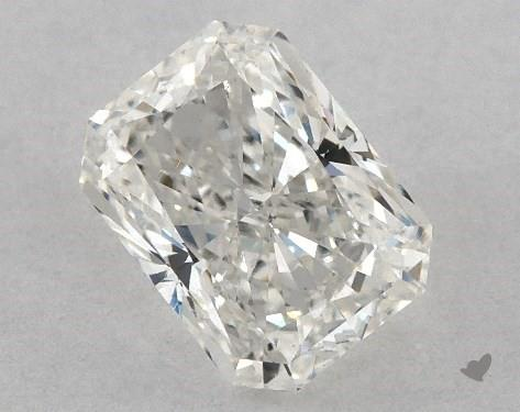 0.70 Carat H-VS2 Radiant Cut Diamond