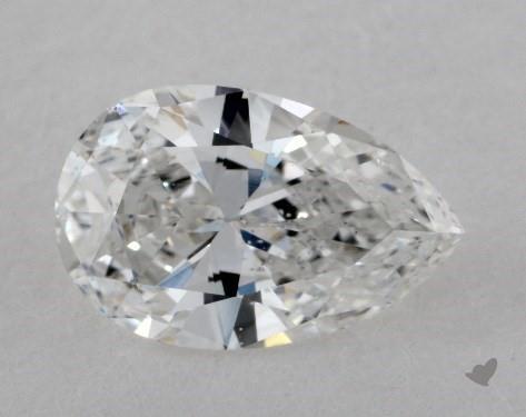 0.99 Carat E-SI2 Pear Shape Diamond