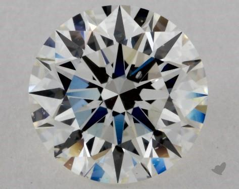 2.06 Carat I-SI1 Excellent Cut Round Diamond