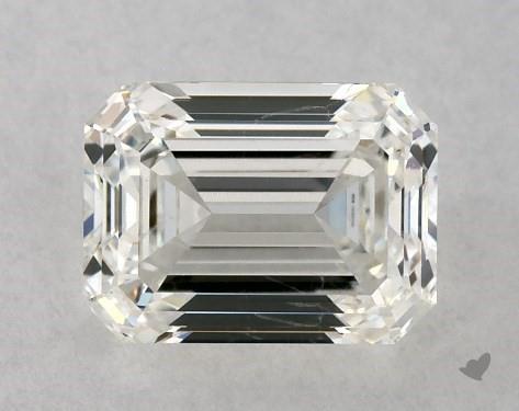0.90 Carat H-SI1 Emerald Cut Diamond