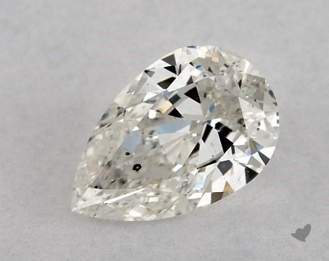 0.73 Carat I-I1 Pear Shape Diamond