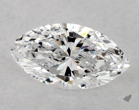 0.70 Carat D-SI2 Marquise Cut Diamond