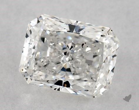 0.71 Carat F-SI2 Radiant Cut Diamond