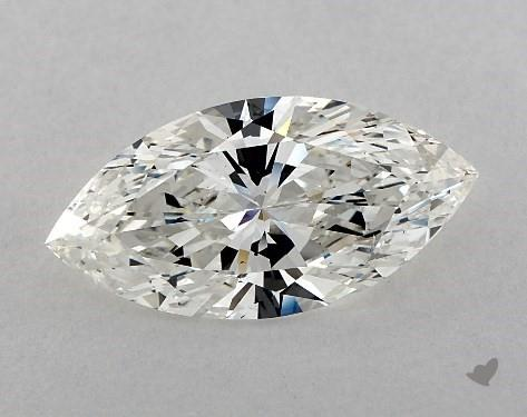 3.51 Carat H-SI1 Marquise Cut Diamond