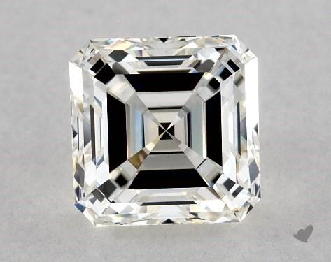 1.25 Carat H-VS1 Square Emerald Cut Diamond