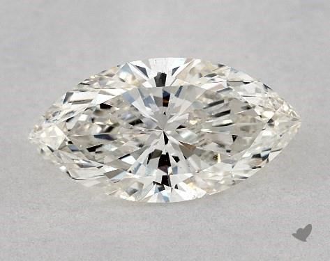 1.01 Carat H-SI2 Marquise Cut Diamond