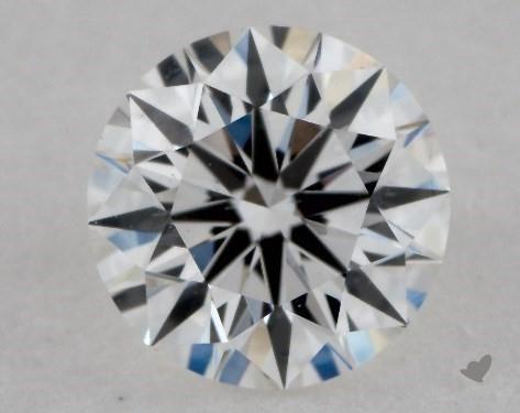 0.44 Carat F-VS2 Ideal Cut Round Diamond