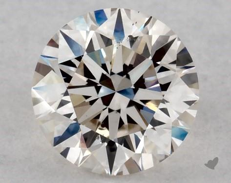 0.70 Carat K-SI1 Excellent Cut Round Diamond