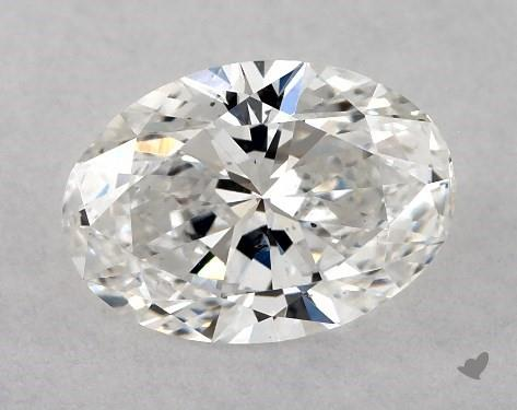 0.70 Carat F-SI2 Oval Cut Diamond