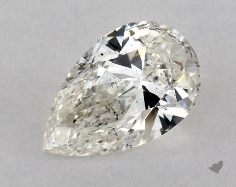 0.71 Carat I-SI2 Pear Shape Diamond